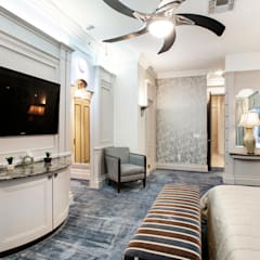 A special commission in Las Vegas:  Bedroom by Burchell Interiors