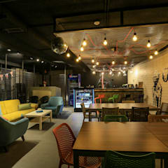 Event venues by dal design office, Industrial