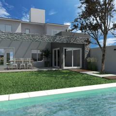 GALERIA: Piletas de estilo  por VI Arquitectura & Dis. Interior