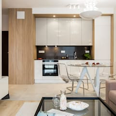 Cocinas equipadas de estilo  por KODO projekty i realizacje wnętrz