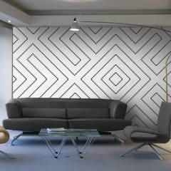 DDI-DECOR: Estudios y oficinas de estilo  por Aquacolors / Moretti A&D