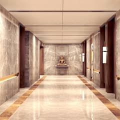 luxury interiors by Maple studio design:  Corridor & hallway by MAPLE studio design