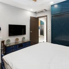 THỰC TẾ CĂN HỘ PHONG CÁCH ĐỊA TRUNG HẢI :  Phòng ngủ by ICON INTERIOR