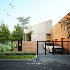 alit nang kutho p2:  Rumah by midun and partners architect