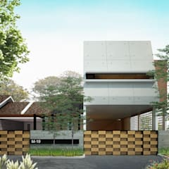MUF HOUSE:  Rumah by midun and partners architect