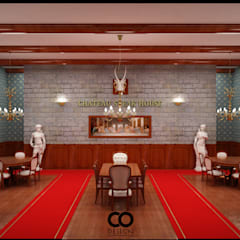 CO-Design 25° – Chateau Steak house:  tarz Yeme & İçme