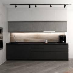 Квартира Жк.Самоцветы в стиле Loft: Кухни в . Автор – Дизайн Студия Katushhha