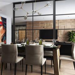 غرفة السفرة تنفيذ Дизайн Студия Katushhha