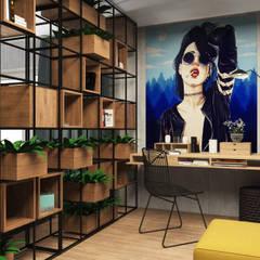 مكتب عمل أو دراسة تنفيذ Дизайн Студия Katushhha