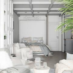 Квартира Жк. Светлый мир : Спальни в . Автор – Дизайн Студия Katushhha