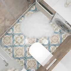 Дизайн Студия Katushhhaが手掛けた浴室,