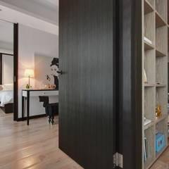 Dressing room by 直方設計有限公司