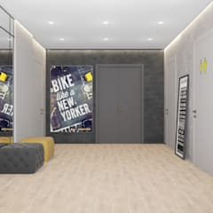 Corridor, hallway by Дизайн Студия Katushhha