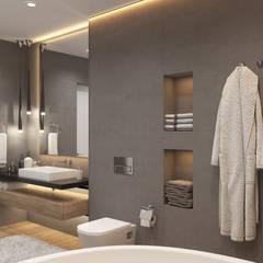 Baños de estilo  por Дизайн Студия Katushhha, Industrial