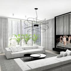 FORGET-ME-NOT | III | Wnętrza rezydencji: styl , w kategorii Pokój multimedialny zaprojektowany przez ARTDESIGN architektura wnętrz