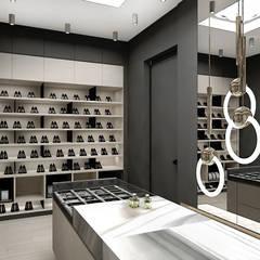 wymarzona garderoba: styl , w kategorii Garderoba zaprojektowany przez ARTDESIGN architektura wnętrz