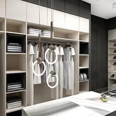wyszukane wnętrze - garderoba: styl , w kategorii Garderoba zaprojektowany przez ARTDESIGN architektura wnętrz