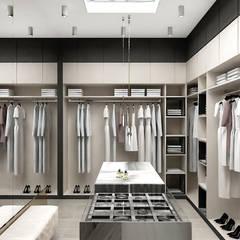 projekt garderoby przy sypialni: styl , w kategorii Garderoba zaprojektowany przez ARTDESIGN architektura wnętrz