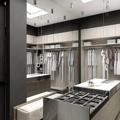 funkcjonalna garderoba: styl , w kategorii Garderoba zaprojektowany przez ARTDESIGN architektura wnętrz