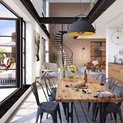 Dining room by jvantspijker & partners