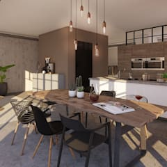 Kitchen units by jvantspijker & partners,