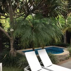 Estanques de jardín de estilo  por Studio Casa Arquitetura