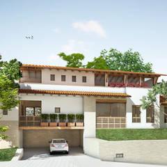 CASA Q.B.: Casas de estilo  por JEP arquitectos