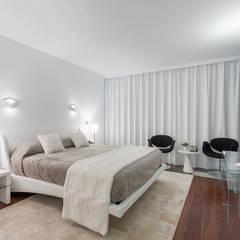 Descanso dos Guerreiros: Quartos  por MY STUDIO HOME - Design de Interiores