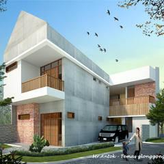 AT HOUSE: Rumah oleh midun and partners architect,