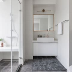 晝。光聚:  浴室 by 存果空間設計有限公司