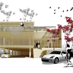 Projekty,  Przestrzenie biurowe i magazynowe zaprojektowane przez midun and partners architect