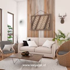 Living room by PT. Leeyaqat Karya Pratama
