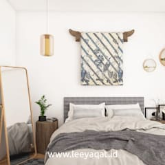Desain Interior Bohemian:  Kamar Tidur by PT. Leeyaqat Karya Pratama