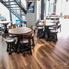 odywood – Gotham Endüstriyel Yemek Masası:  tarz Yemek Odası