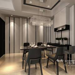 是回家也是旅行  輕古典風飯店質感度假好宅  --曙光之旅2:  餐廳 by 木博士團隊/動念室內設計制作
