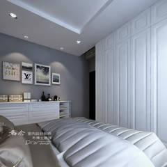 是回家也是旅行  飯店質感度假好宅:  臥室 by 木博士團隊/動念室內設計制作