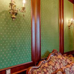 Библиотека Власово: Стены в . Автор – Antini Interior