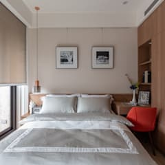 جدران تنفيذ 富亞室內裝修設計工程有限公司 , حداثي خشب Wood effect