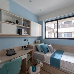 Boys Bedroom by 富亞室內裝修設計工程有限公司, Scandinavian MDF
