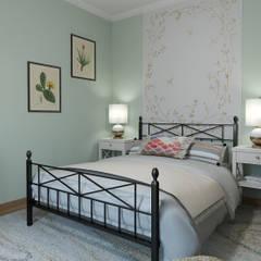 Bedroom by Glancing Eye