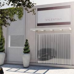 Oficinas y Tiendas de estilo  por Studio 15|20 Arquitetura