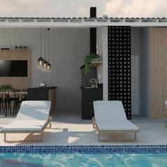 Balcony by Studio 15|20 Arquitetura