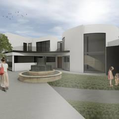 Moradia Unifamiliar em Póvoa de Varzim por Arqvoid - Arquitetura e Serviços, Lda. Moderno