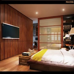 ER HOUSE:  Kamar Tidur by midun and partners architect
