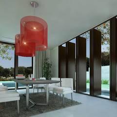 PLATINUM HOUSE: Ruang Makan oleh midun and partners architect,