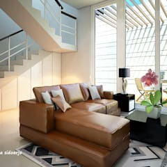 RN HOUSE Ruang Media Modern Oleh midun and partners architect Modern