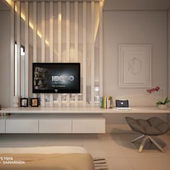 AFU HOUSE:  Kamar Tidur by midun and partners architect
