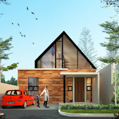 AFU HOUSE:  Rumah by midun and partners architect