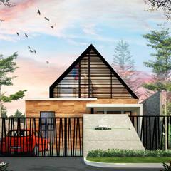 AFU HOUSE: Rumah oleh midun and partners architect,