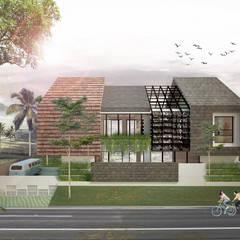 HAMUR AGIT ASAR : Rumah oleh midun and partners architect, Tropis